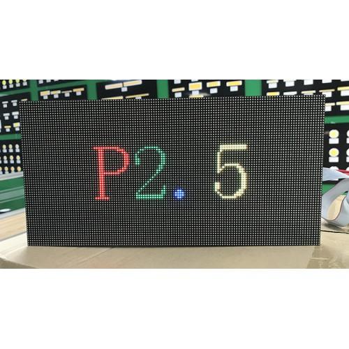 แผงจอแอลอีดีในร่ม P2.5