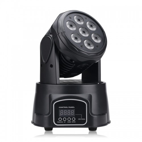 7 LED Full Color Wash Moving Head