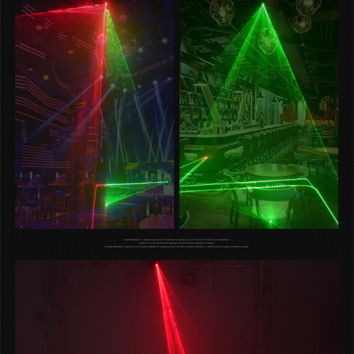 Big Dipper K800 Red and Green Plan Laser