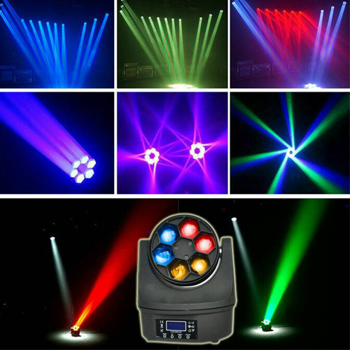 6 LED Bee Eye Moving Head